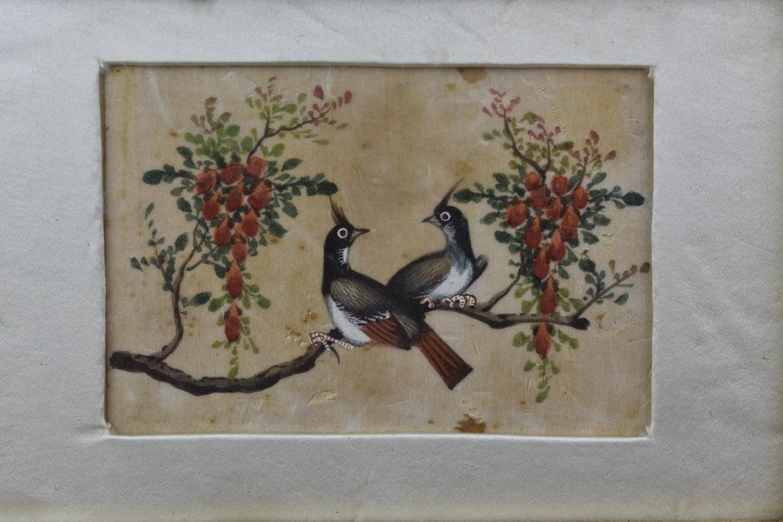 CHINESE EXPORT QING PITH PAPER PAINTING CIRCA 1820 - 4
