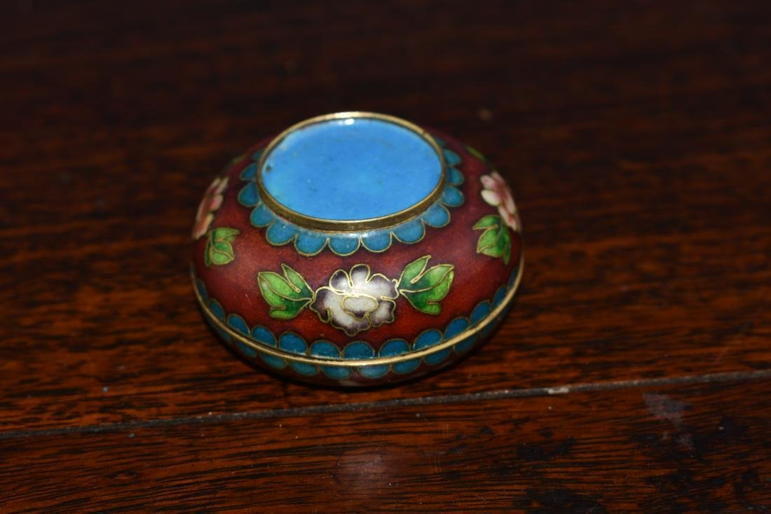Chinese and Japanese Cloisonne Box and Bowl - 6