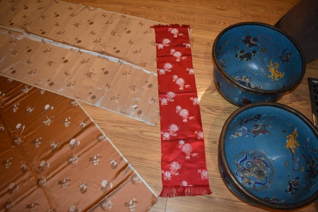 Chinese Modern Silk Fabric from Hong Kong - 4