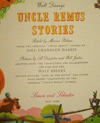 3: Disney 1947 Uncle Remus Stories Giant Golden Book - 2