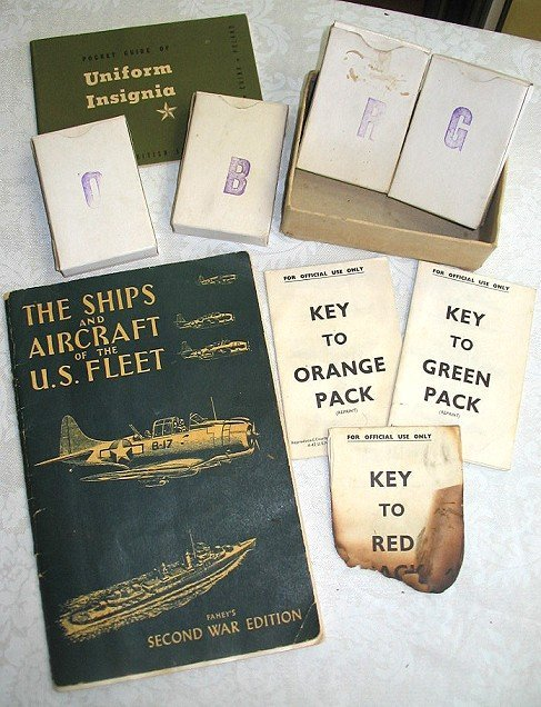 44: WWII Aircraft Spotter ID cards/Insignia Booklet