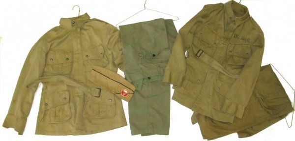 358: WWII Airborne Paratrooper Uniforms Jackets/Pants