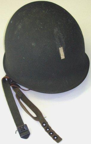 361: WWII US Army Officer/LT Helmet~Paratrooper~Nice