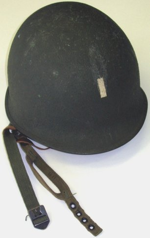 361: WWII US Army Officer/LT Helmet~Paratrooper~Nice