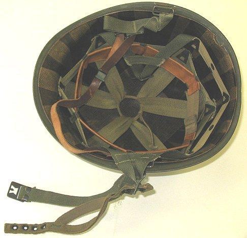 361: WWII US Army Officer/LT Helmet~Paratrooper~Nice - 2