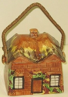 322: Price Bros. Cottage Ware House Cookie/Biscuit Jar