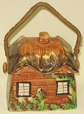 322: Price Bros. Cottage Ware House Cookie/Biscuit Jar - 3