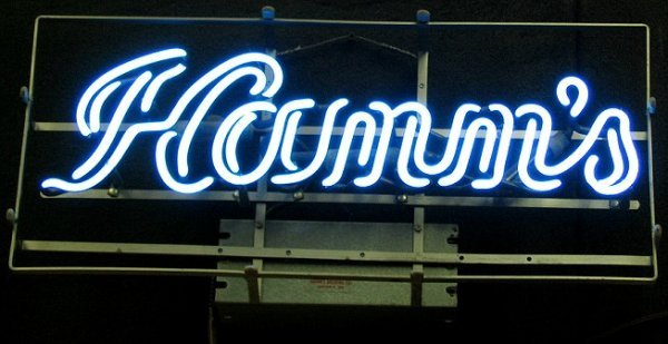 814: Vintage Hamm's Beer Neon Sign -Local PU Only
