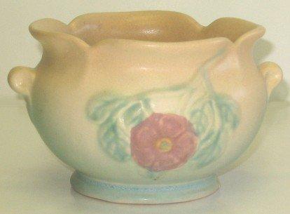 403: Vintage Hull Art Pottery Dogwood Planter Vase