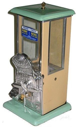 370: Rare Norris Master 1¢AND5¢ Gumball/Peanut Machine! - 2