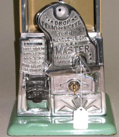 370: Rare Norris Master 1¢AND5¢ Gumball/Peanut Machine! - 4