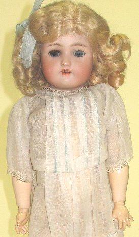 "6: Antique Simon & Halbig German Bisque 19"" Doll"