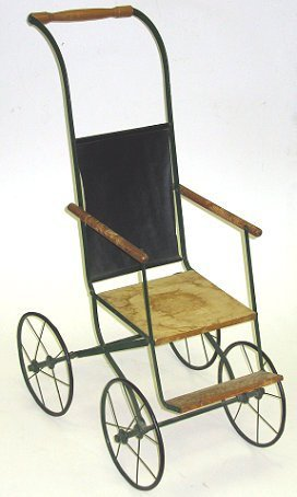 8: Cute Little Antique Doll Stroller