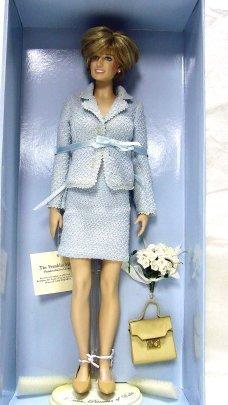 20: Franklin Mint Princess Diana Portrait Doll