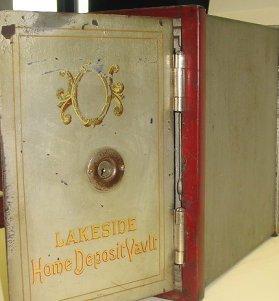 1070: Antique Lakeside Home Deposit Vault/Safe - 3