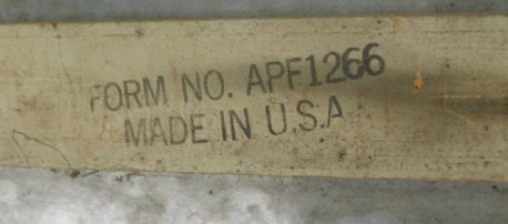 1091: Big Old Porcelain Prestone Antifreeze Thermometer - 3