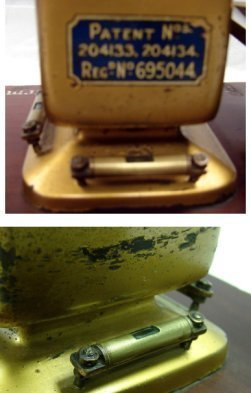 1217: Antique Autobac True Weight System Balance Scale - 4