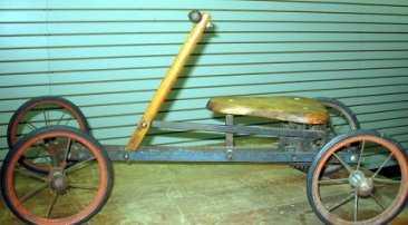 1316 Victorian Irish Mailrow Cart Wooden Ride On Toy