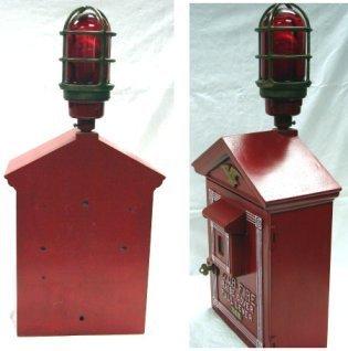 1435: Vintage Fire Alarm Box W/Light & Telegraph LAFD - 2