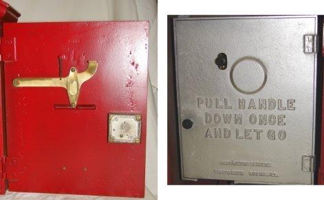 1435: Vintage Fire Alarm Box W/Light & Telegraph LAFD - 3