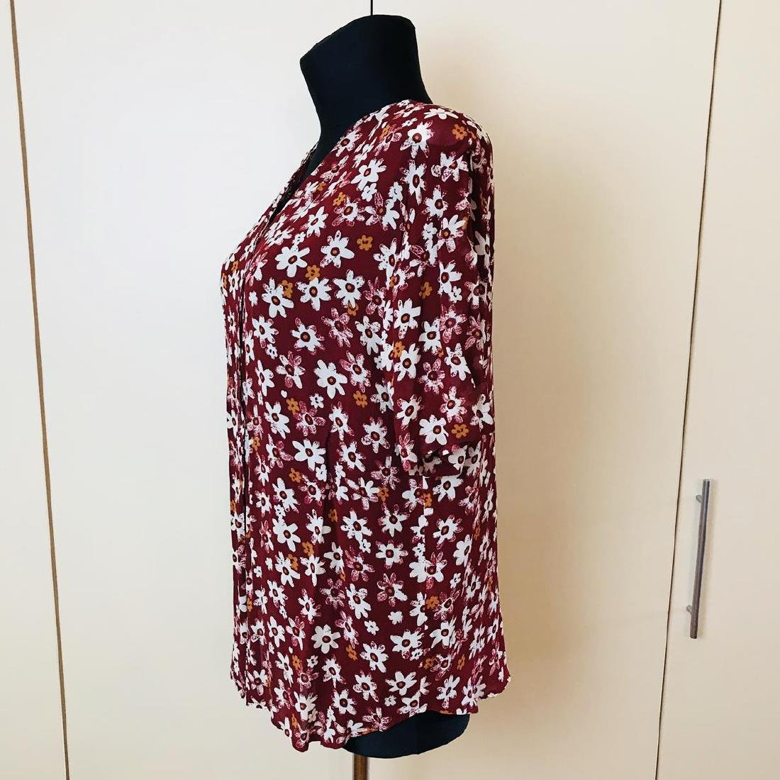 Vintage Women's Bellissima Designer Blouse Shirt Top - 4