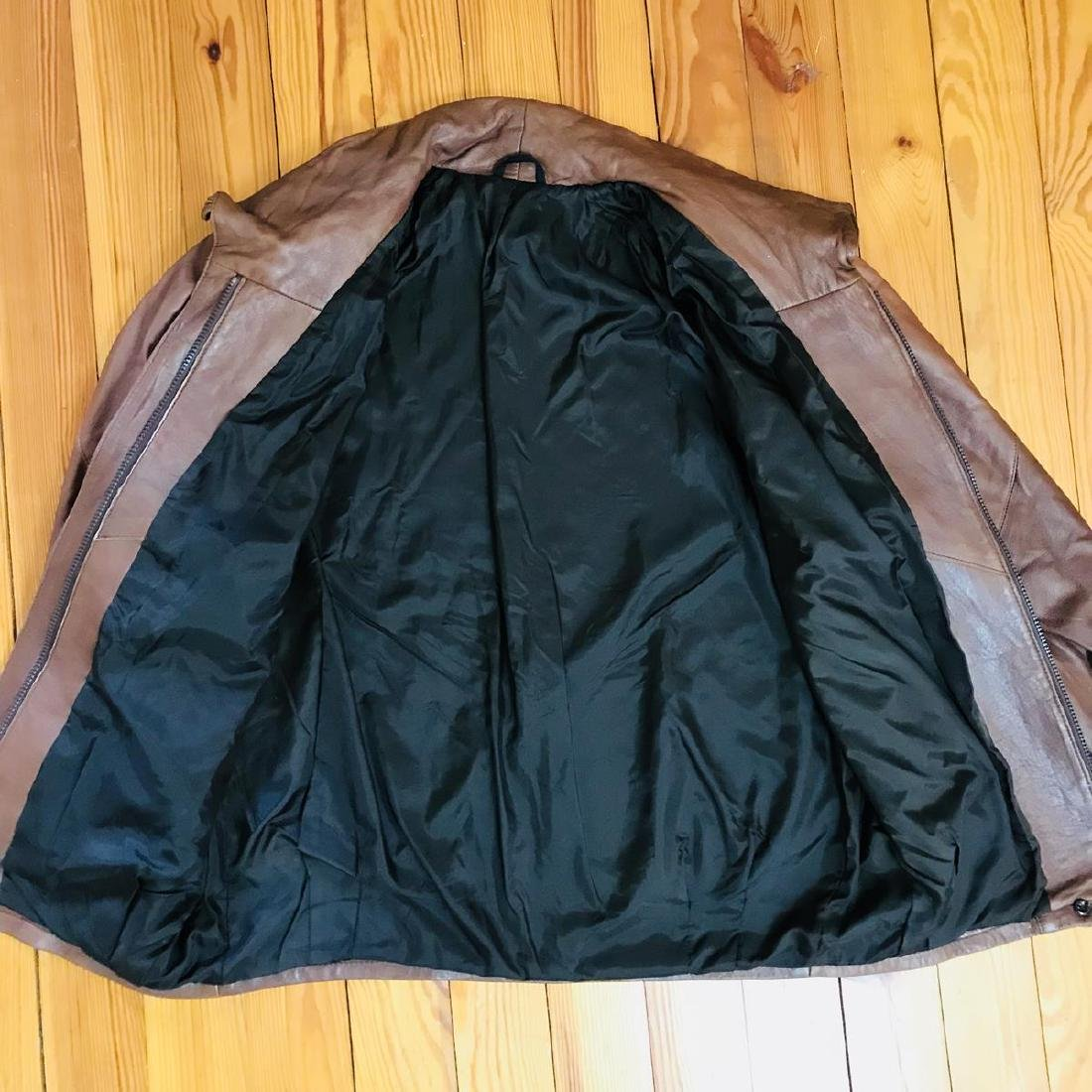 Vintage Women's Leather Jacket Coat - 6