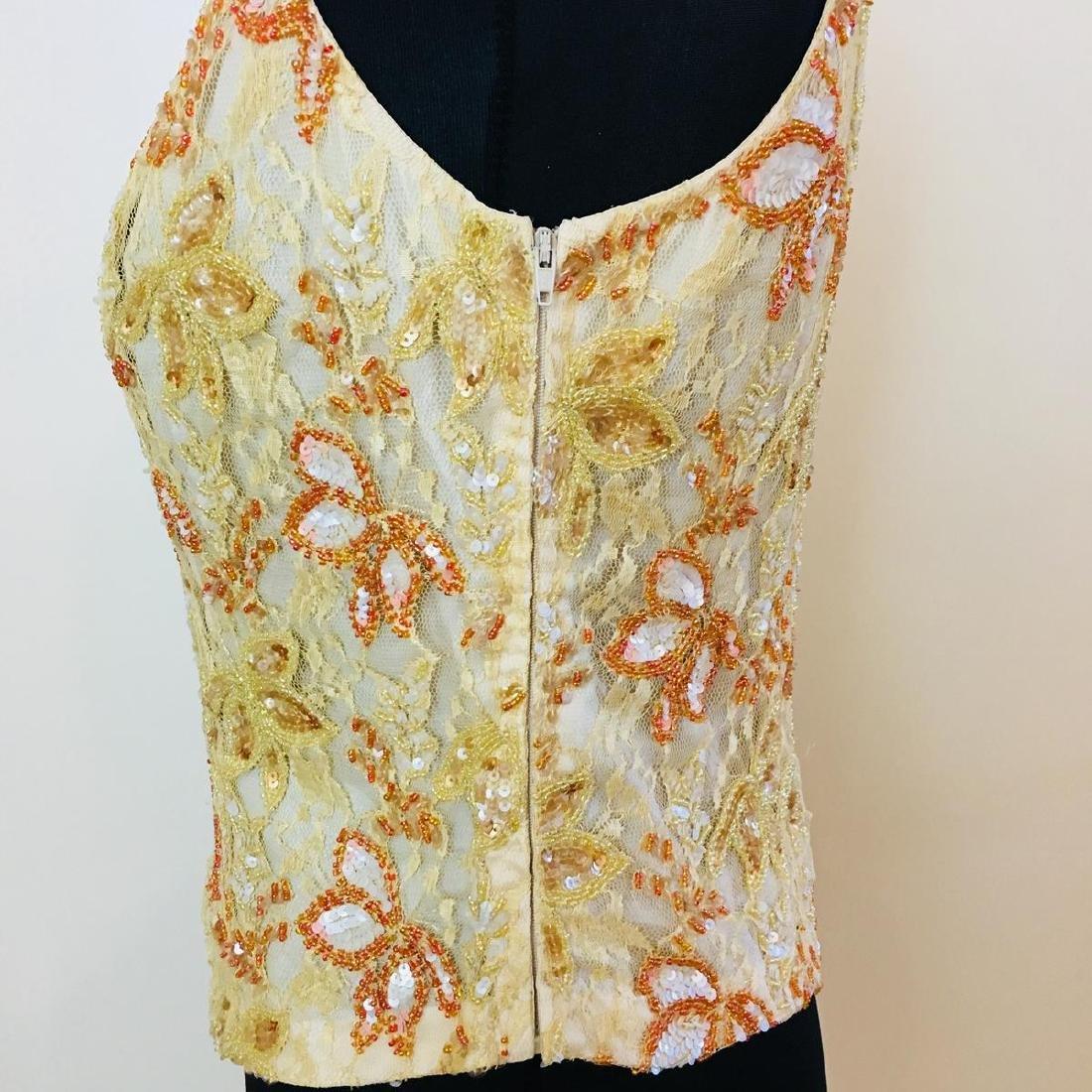 Vintage Women's Collection Designer Blouse Shirt Top - 6