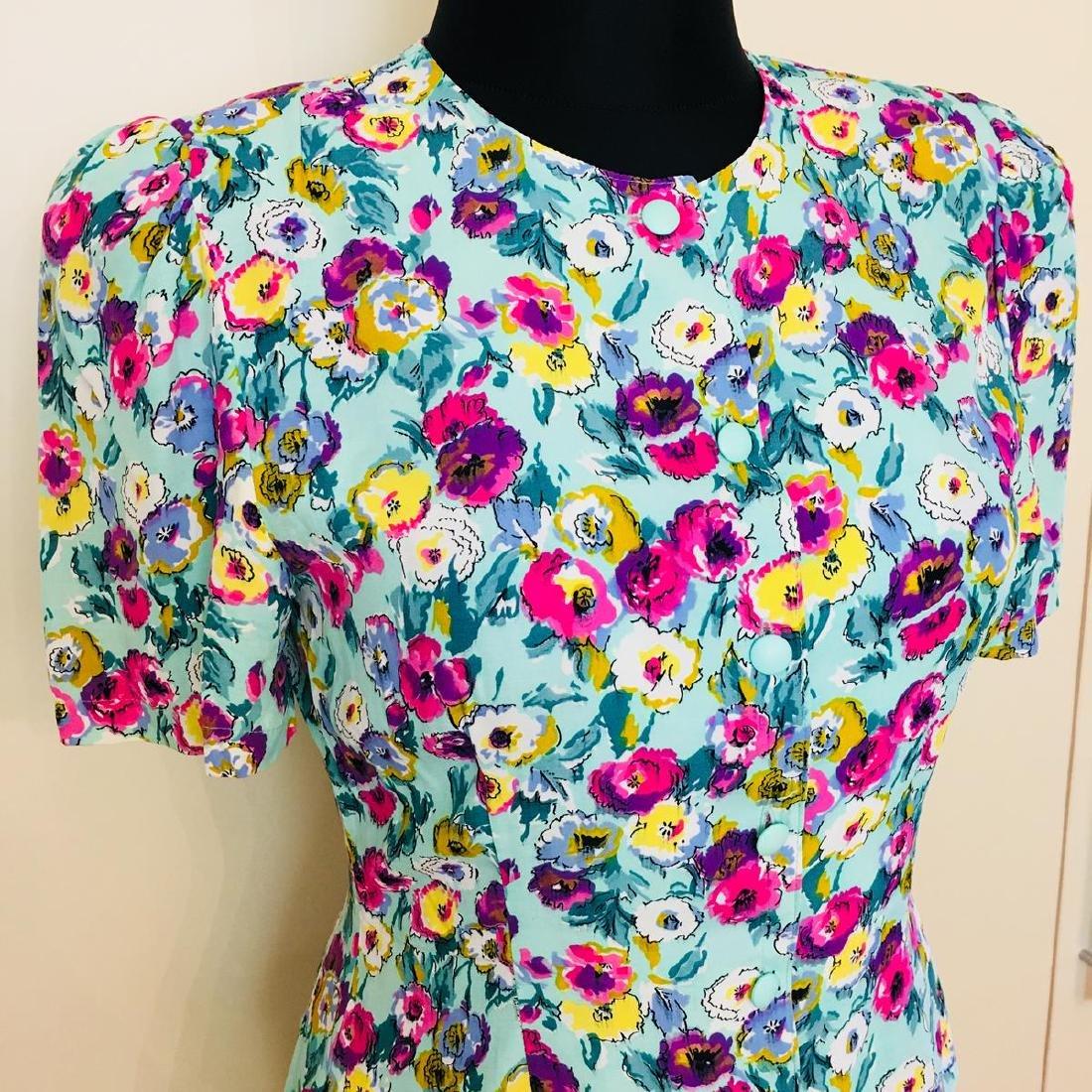 Vintage Women's Gigi Modelle Designer Blouse Shirt Top - 2