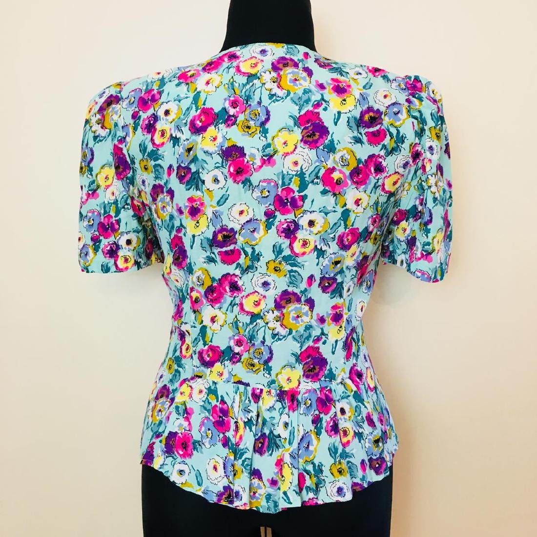 Vintage Women's Gigi Modelle Designer Blouse Shirt Top - 4