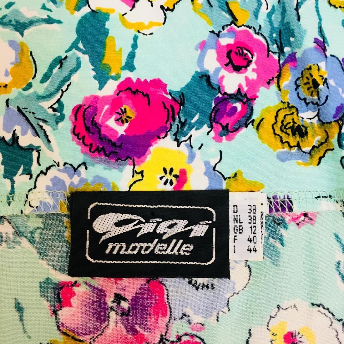 Vintage Women's Gigi Modelle Designer Blouse Shirt Top - 5