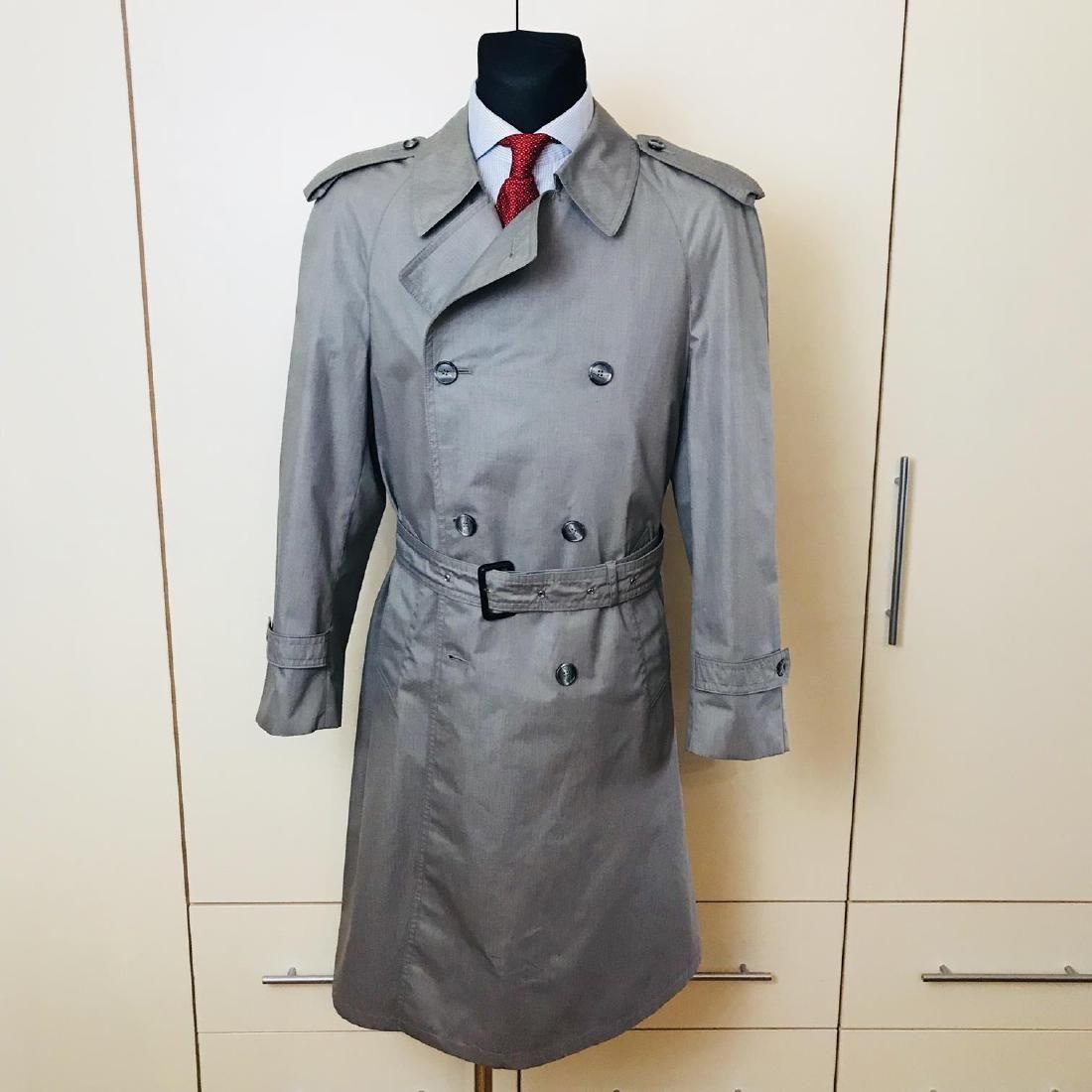 Vintage Men's Trench Coat Size US 40 EUR 50