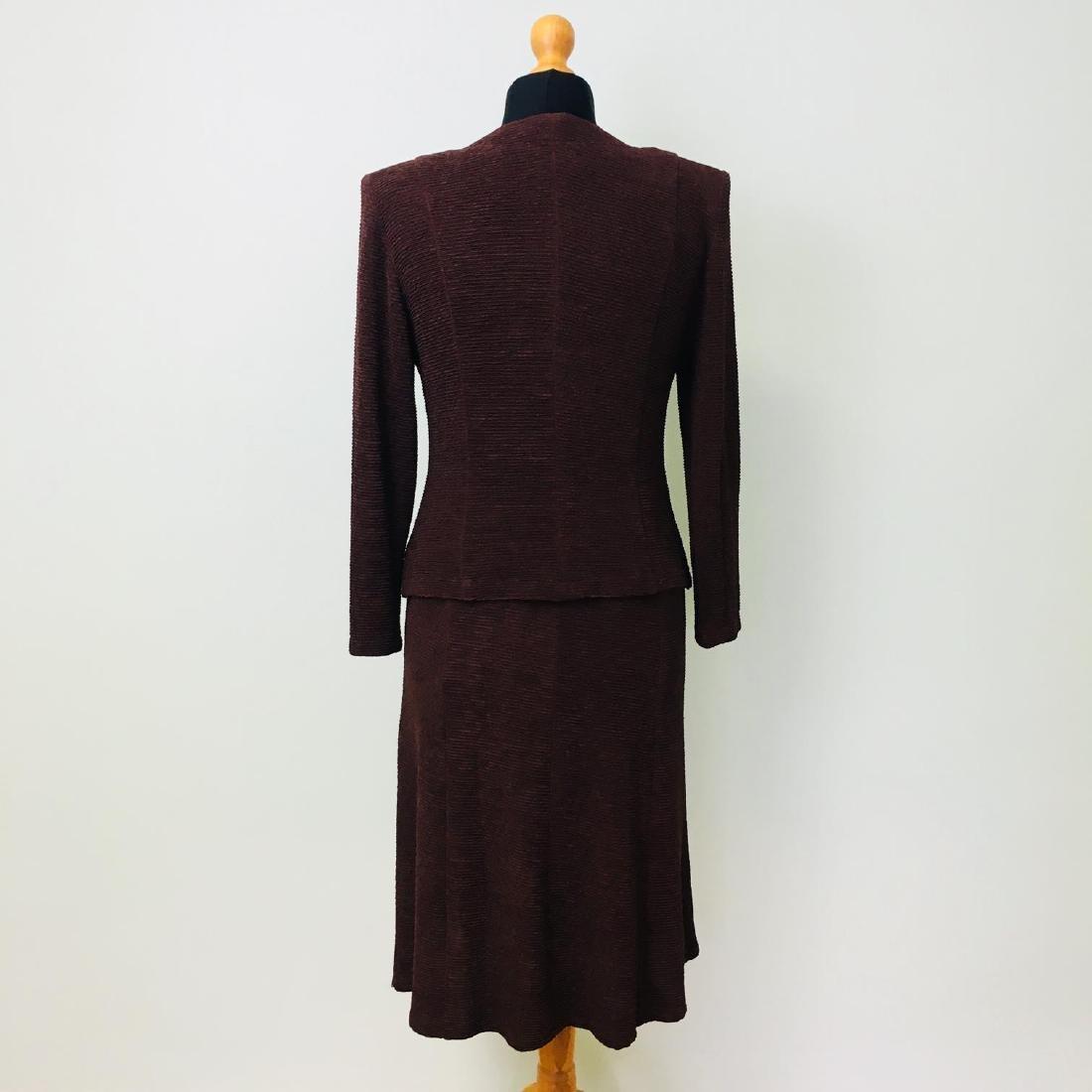 Vintage Women's 2 Piece Evening Jacket Dress Size M - 4