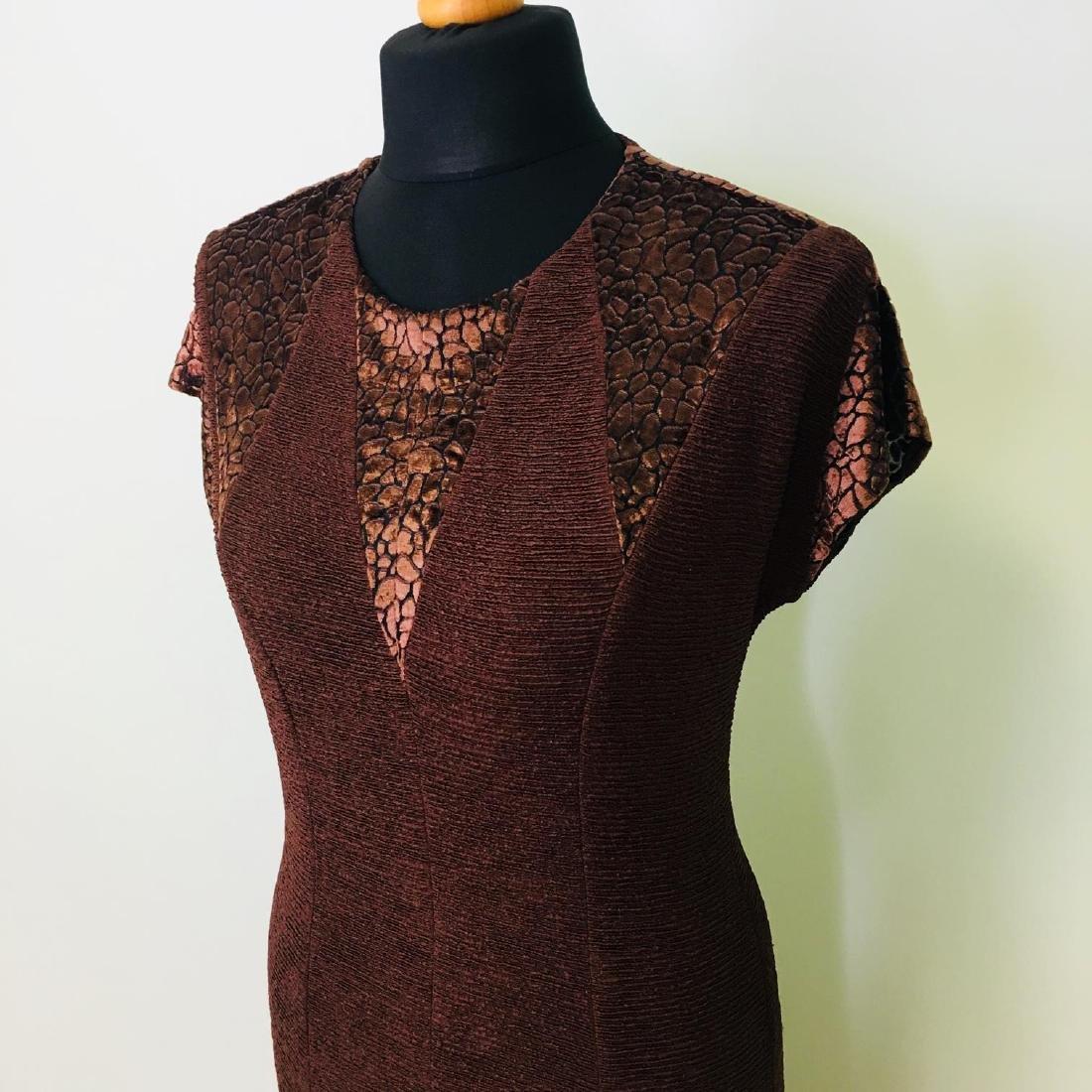 Vintage Women's 2 Piece Evening Jacket Dress Size M - 6