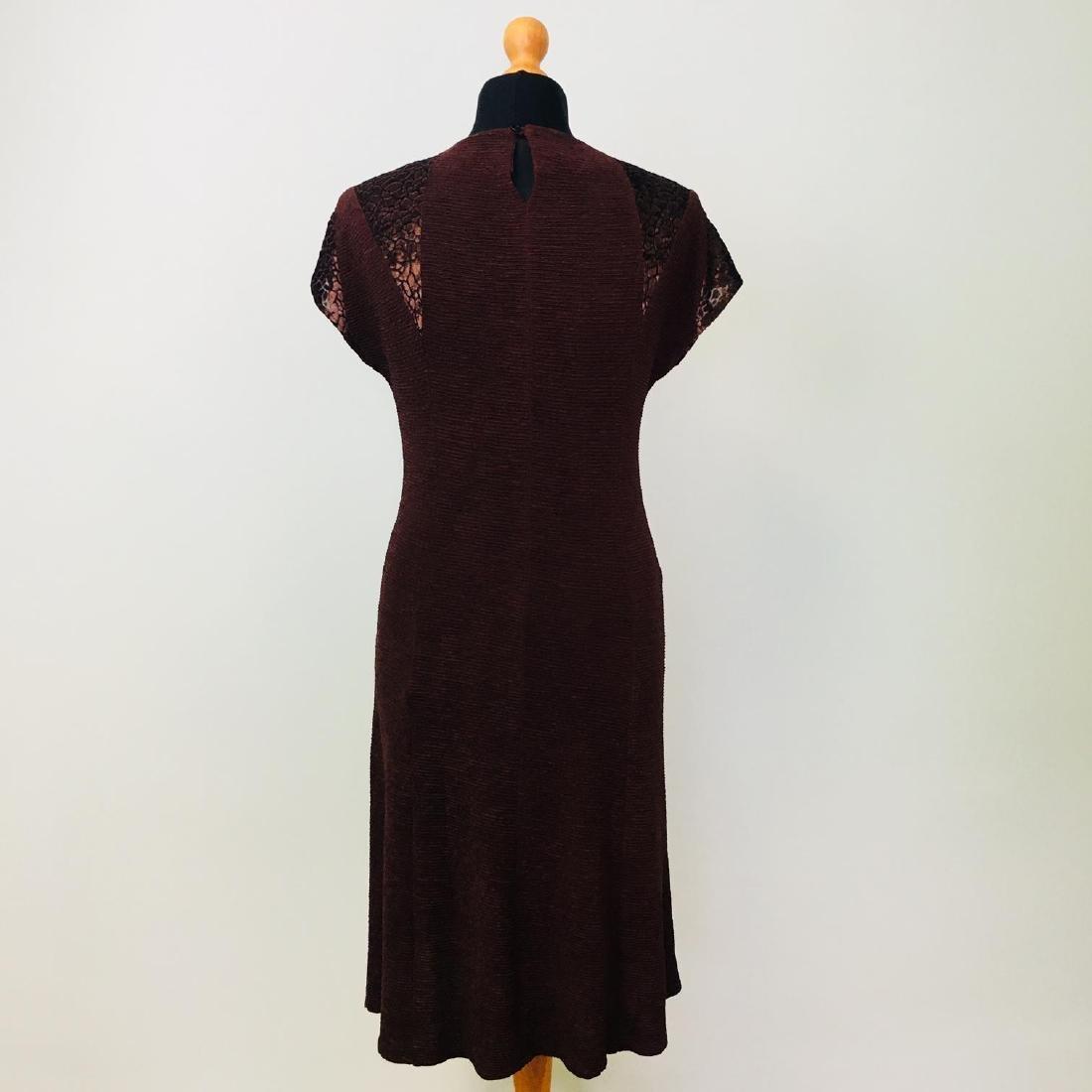 Vintage Women's 2 Piece Evening Jacket Dress Size M - 7