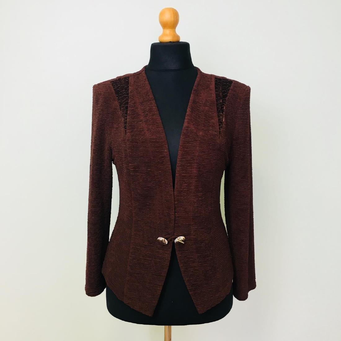 Vintage Women's 2 Piece Evening Jacket Dress Size M - 8