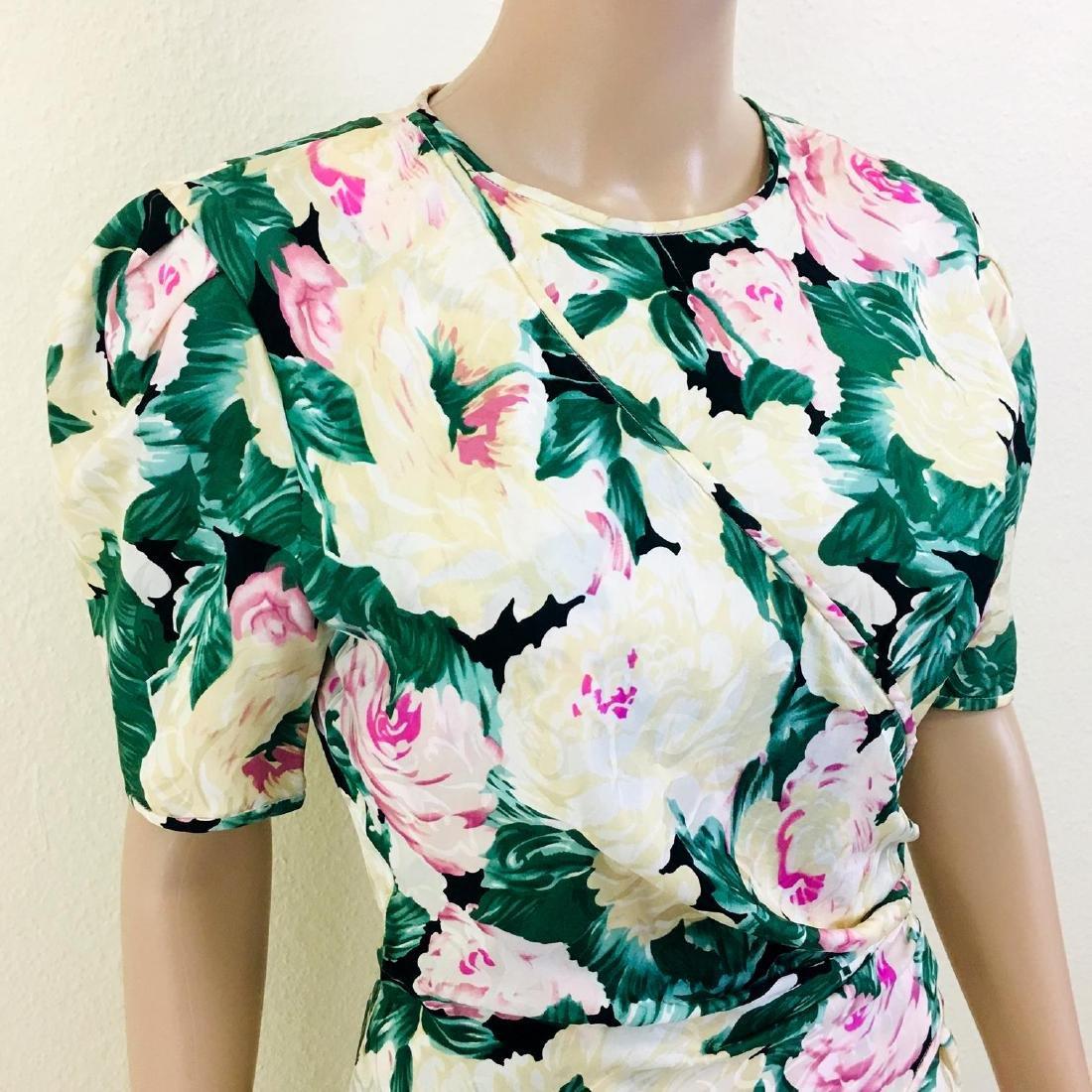 Vintage Women's Maggy London 100% Silk Dress - 5