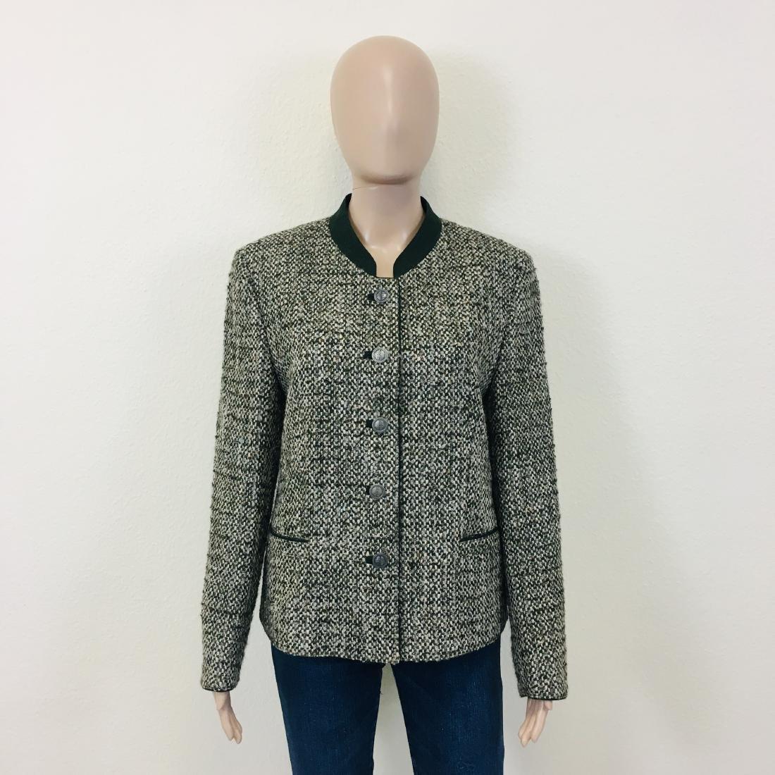 Women's Tyrolean Wool Blend Blazer Jacket