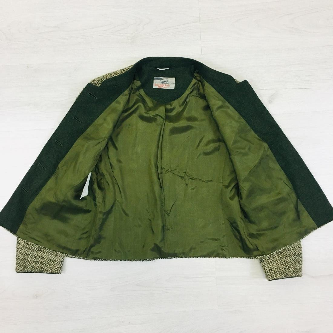 Women's Tyrolean Wool Blend Blazer Jacket - 9