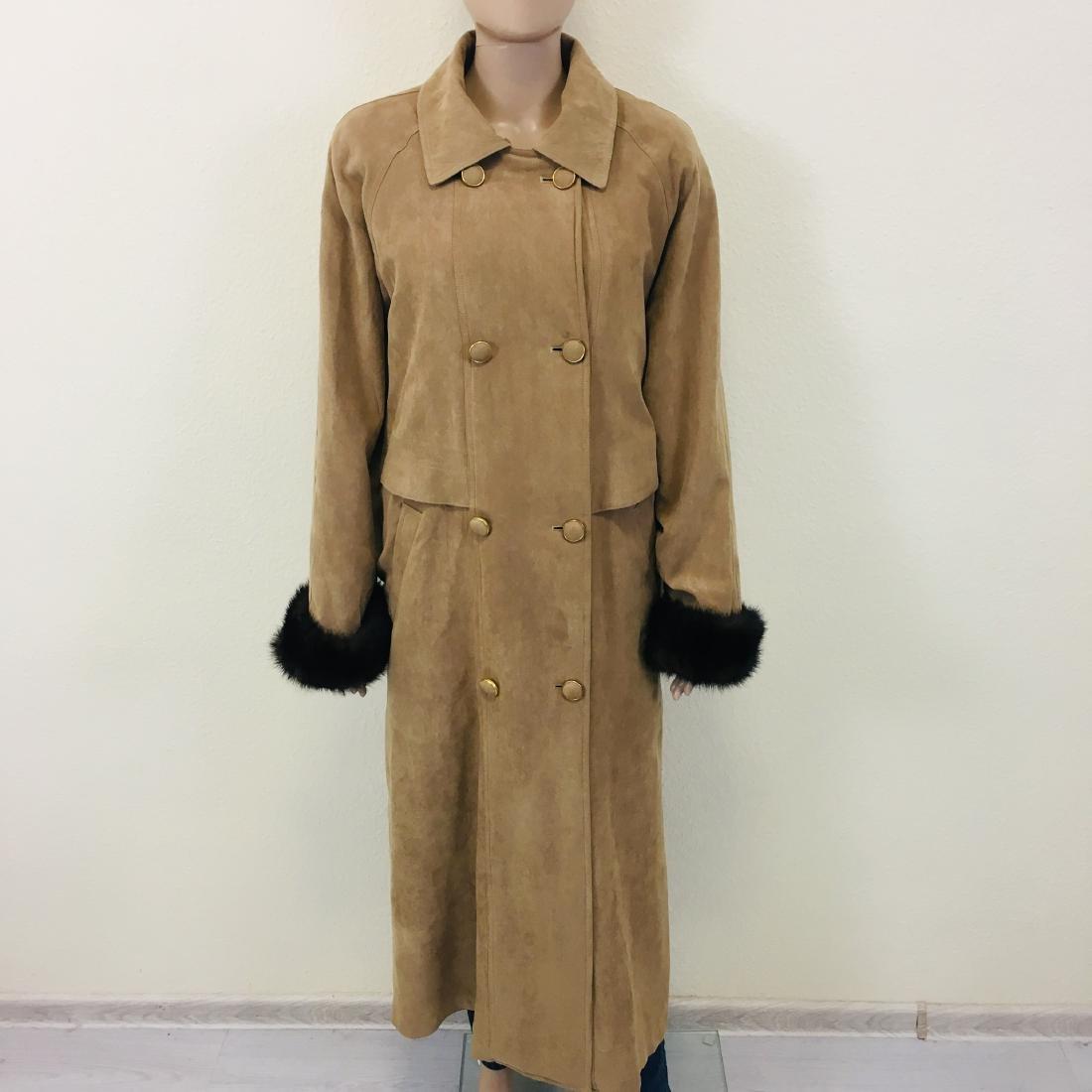 Women's Sebbas Classic Exclusive Long Coat - 3
