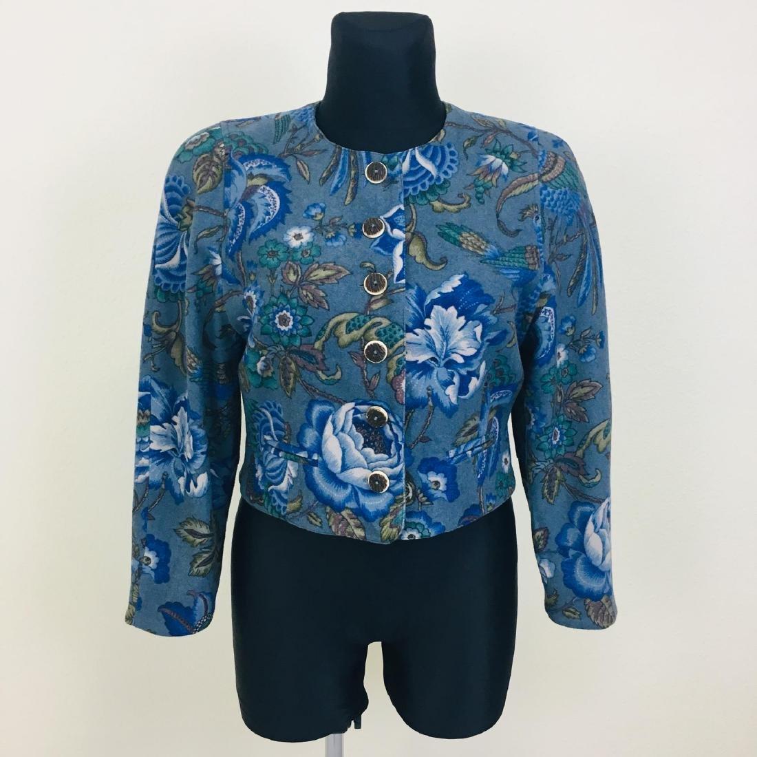 Vintage Women's Wool Blend Blazer Jacket