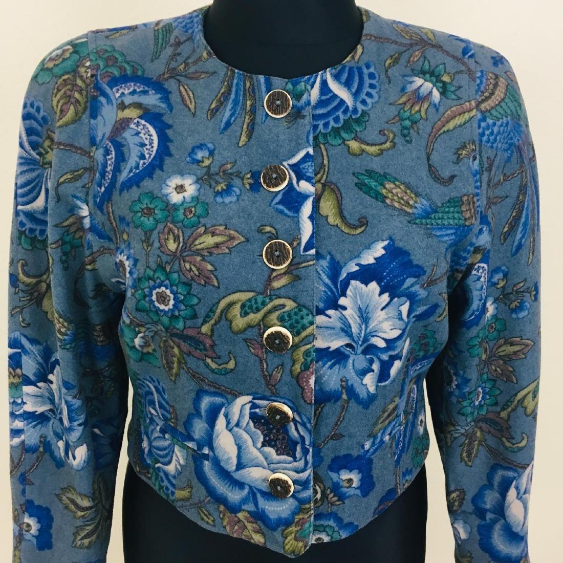 Vintage Women's Wool Blend Blazer Jacket - 3