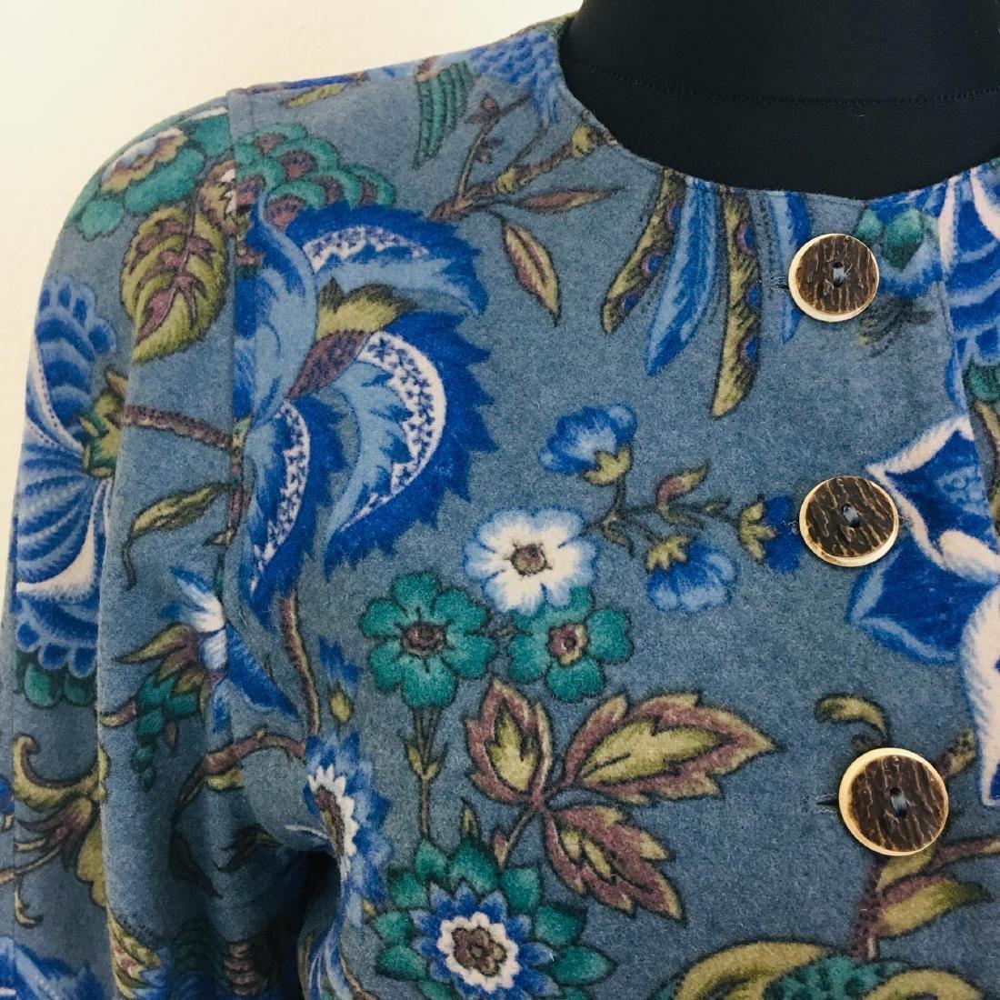 Vintage Women's Wool Blend Blazer Jacket - 4