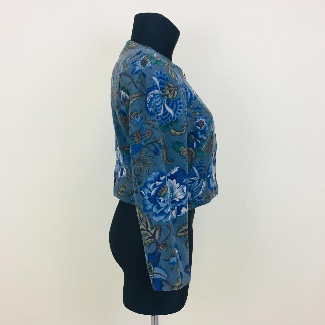 Vintage Women's Wool Blend Blazer Jacket - 5