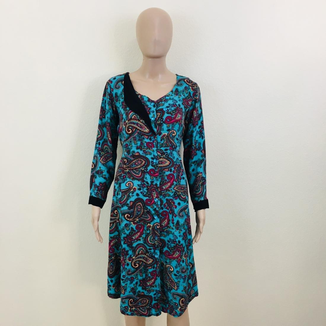 Vintage Women's Handmade Designer Dress