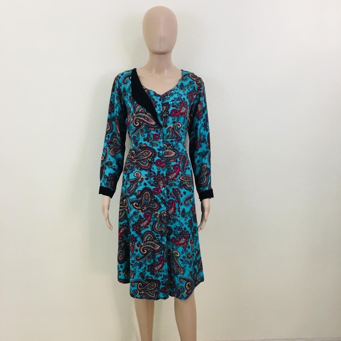 Vintage Women's Handmade Designer Dress - 2