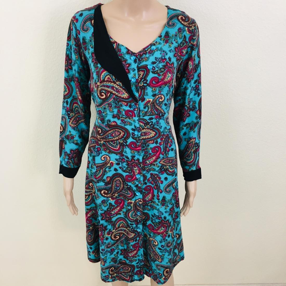 Vintage Women's Handmade Designer Dress - 3