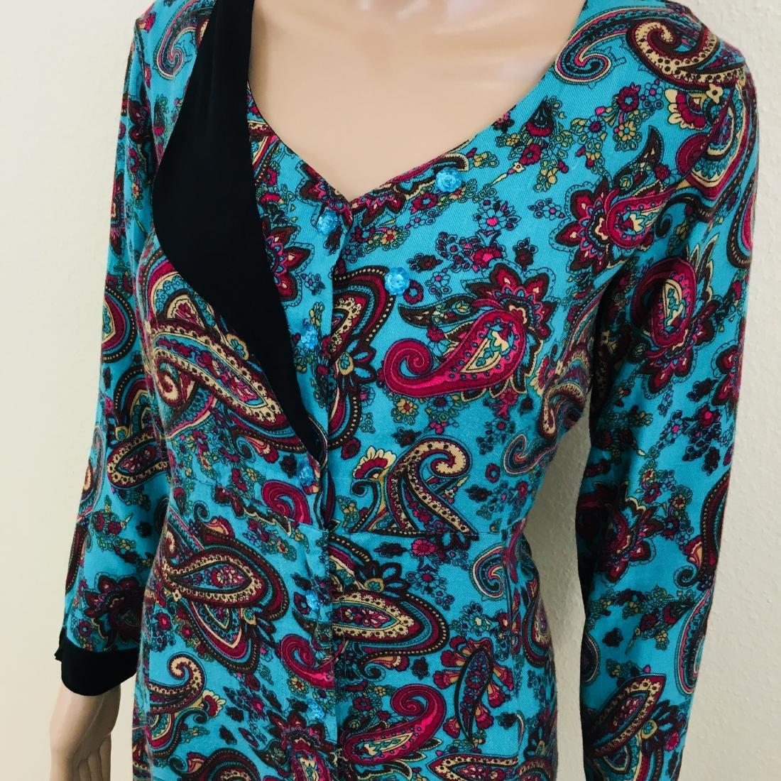 Vintage Women's Handmade Designer Dress - 4