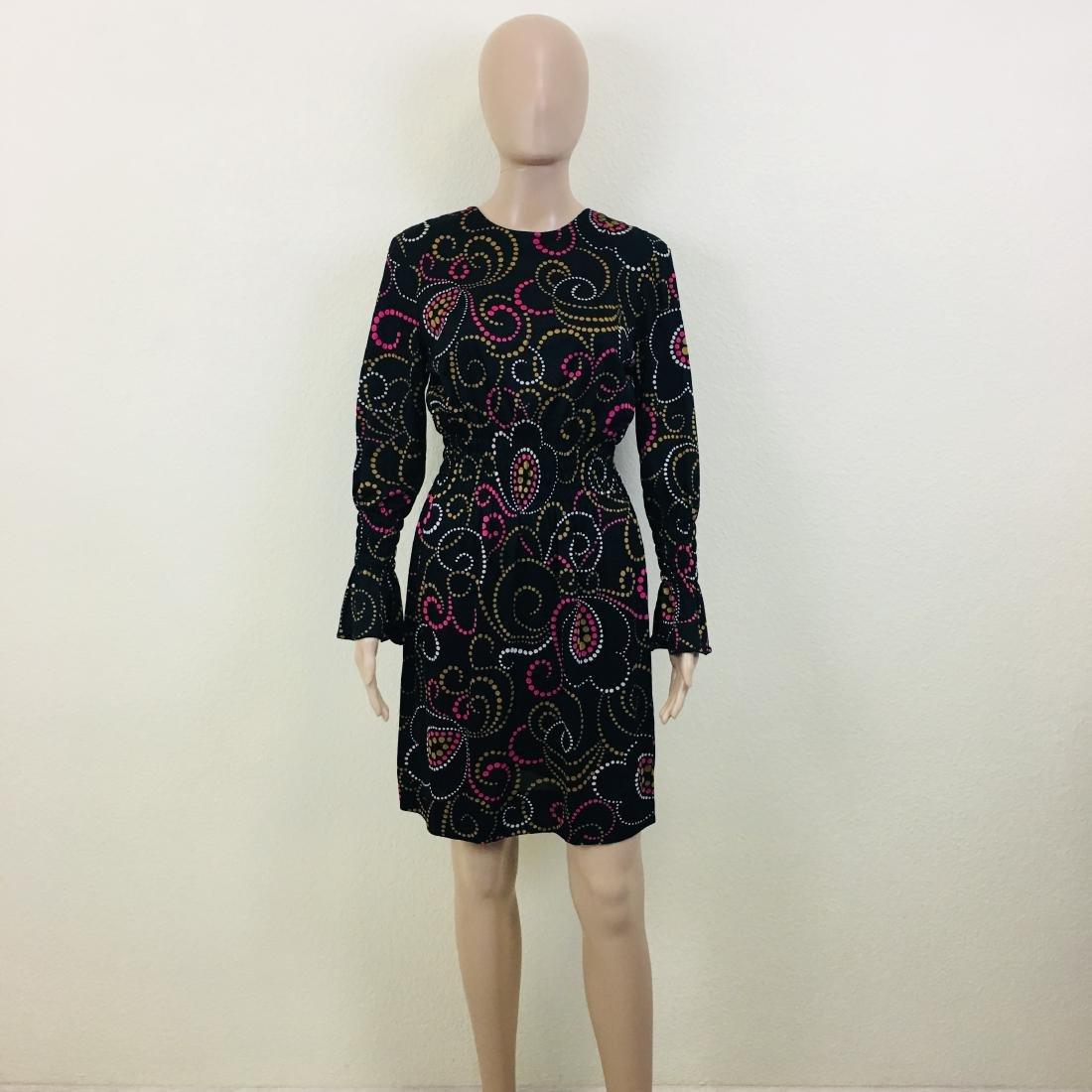 Vintage Women's Black Dress - 2