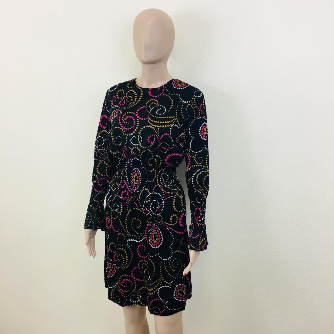 Vintage Women's Black Dress - 3