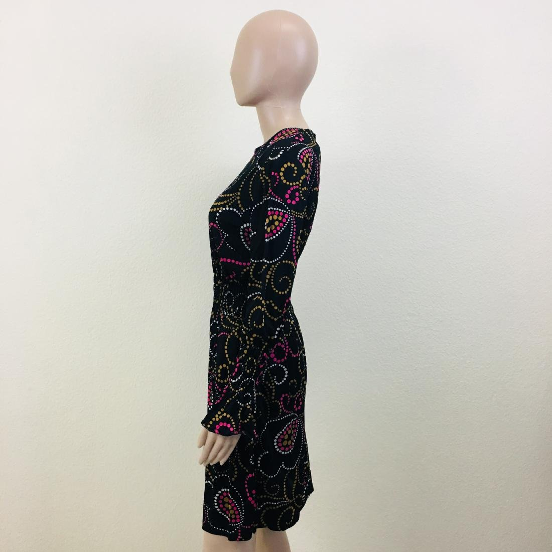 Vintage Women's Black Dress - 6